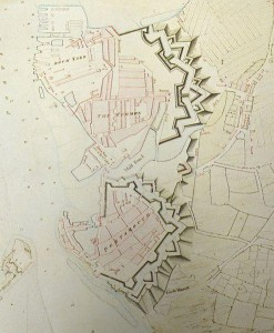 Portsmouth Defences 1773