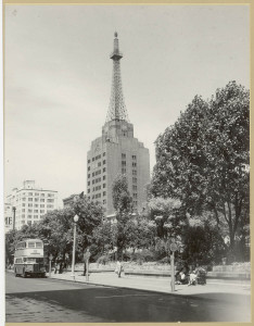 AWA Building and Wynyard Park
