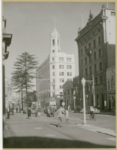 Hunter Street, Newcastle, 1949