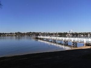 Bayview Park wharf, Concord. Tina Bean 2016