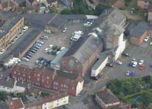 Taunton Police Station. Part of the original Taunton Gaol. Taken 2008. Tauntonbuff http://www.rootschat.com/forum/index.php?topic=315870.0